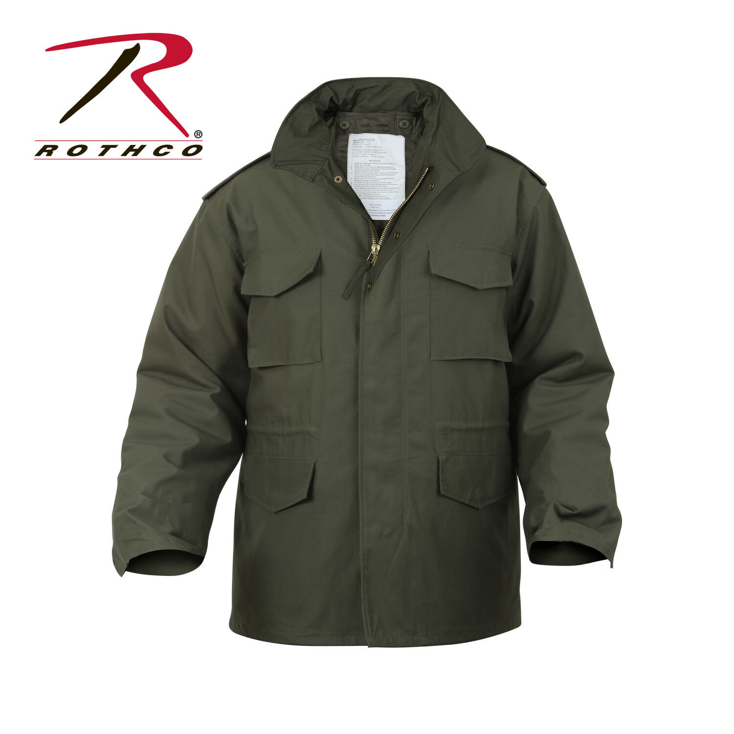 redhco M65 Field Coat with removeable quilted liner OLIVE DRAB