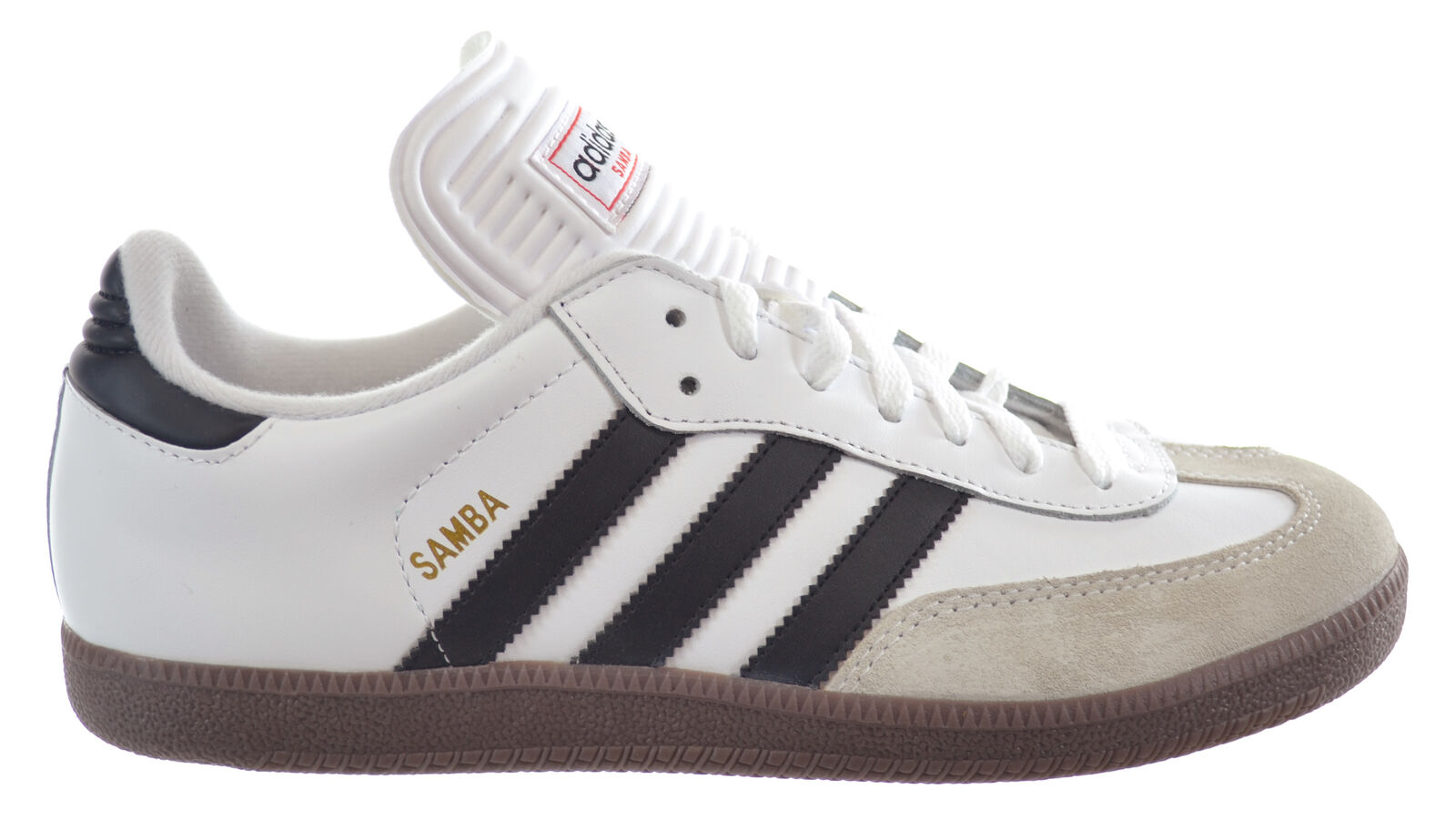 Adidas Originals Samba Classic Men's shoes Run White Black 772109