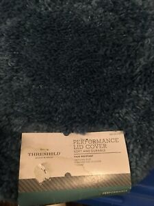 Threshold-Performance-Toilet-Lid-Cover-Blue-NWT