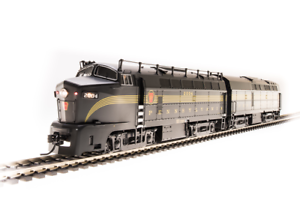 BROADWAY-LIMITED-5751-HO-PRR-Sharknose-A-B-Set-5-St-A-unit-Paragon3-SOUND-DCC