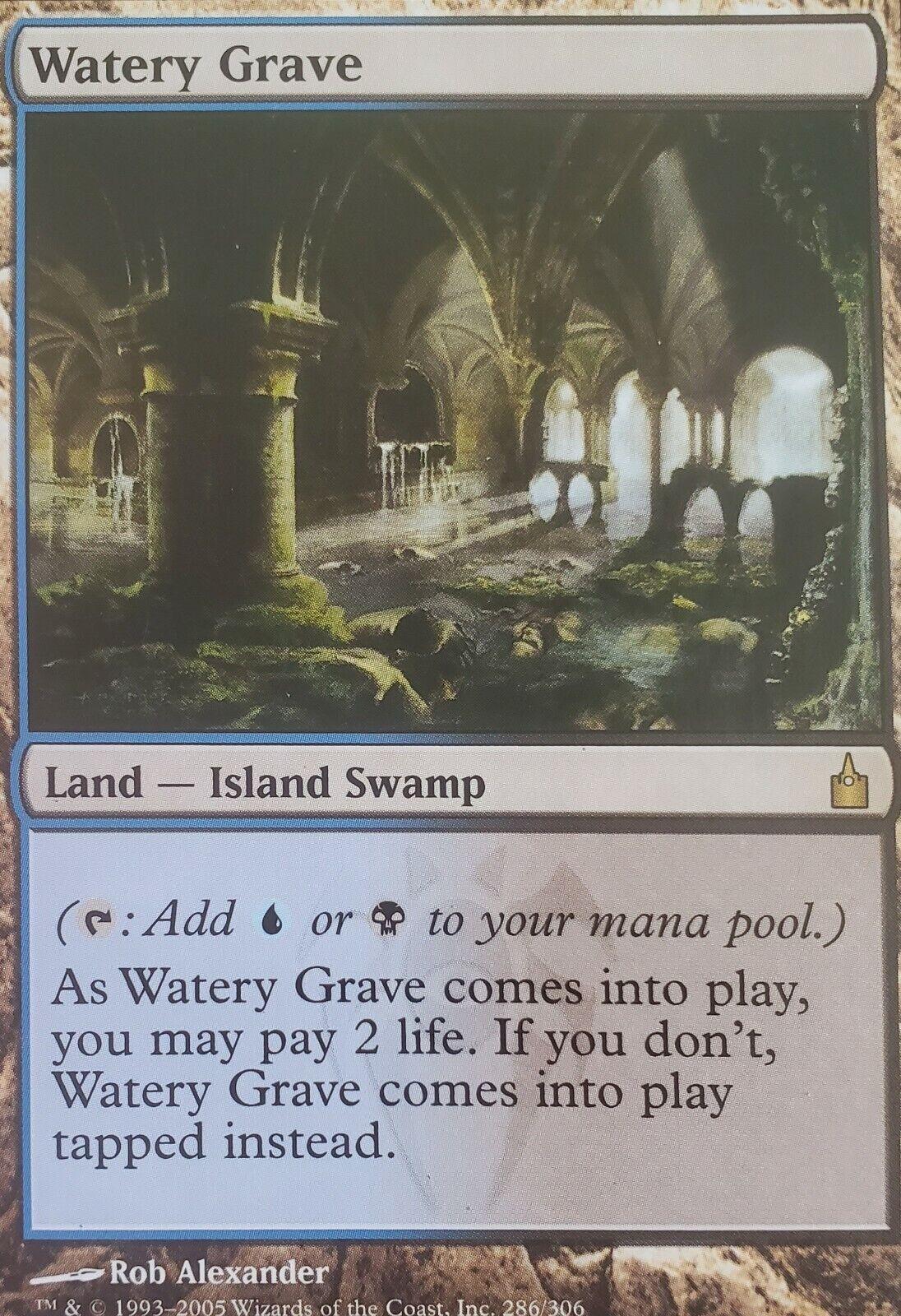 4 Fetid Pools Land Amonkhet Mtg Magic Rare 4x x4