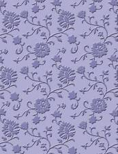 Concepto de artesanía Carpeta de grabación en relieve Cuttlebug Sizzix Big-shot máquinas tallos Floral
