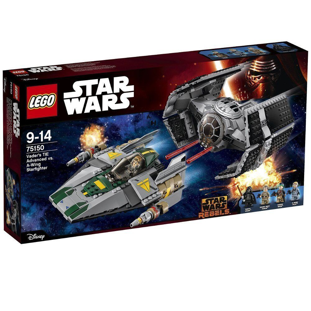 Lego Star Wars™ 75150 Vaders Tie Advanced Vs.A-Wing Starfighter