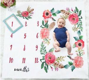 Baby-Newborn-Monthly-Growth-Milestone-Blanket-Photography-Prop-Background-Cloth