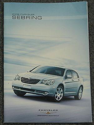 2006 Chrysler Sebring convertible 32-page Original Car Sales Brochure Catalog