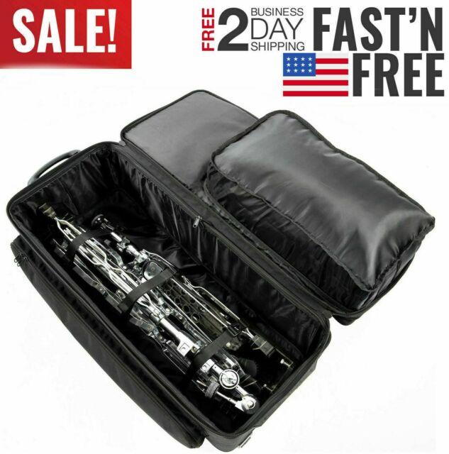 KPHD38W Kaces Pro Drum Hardware Bag-38 w//Wheels