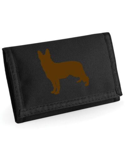German Shepherd Dog Gift Wallet Rip-Stop Purse Birthday Alsatian Wallet Gift