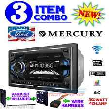 FORD MERCURY TOUCHSCREEN RADIO STEREO INSTALLATION DOUBLE DIN DASH KIT BLUETOOTH