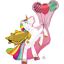 MAGICAL-UNICORN-Birthday-Party-Range-Tableware-Balloons-Supplies-Decorations miniatuur 26