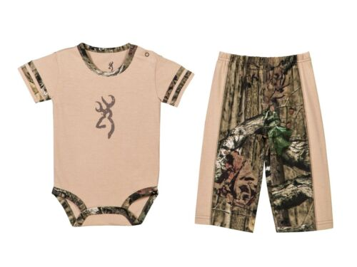 """OFFICIALLY LICENSED BROWNING BABY 2 PC /""""DRAGONFLY/"""" PANT SET-2 COLORS TO CHOOSE!"""