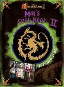 Descendants-2-Mal-039-s-Spell-Book-2-More-Wicked-Magic-9781368000413-Brand-New