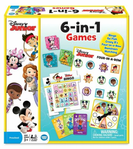 6 en 1 Classic Games Disney Junior
