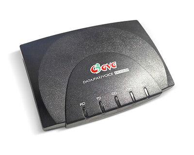NEW Dial Up internet modem external GVC SF-1156V//K4D Serial TAIWAN RS-232