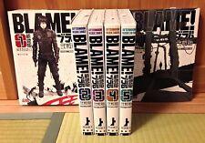 BLAME! Renewal Edition 1- 6 Manga Completed Set Tsutomu Nihei Japanese Comic