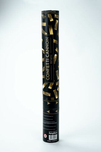 10x Konfettikanone Gold Neu 40 cm Hochzeit Shooter Popper Confetti Regen Party