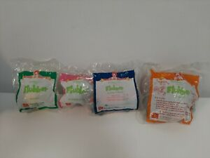 1997-McDonald-039-s-Happy-Meal-Toys-Complete-Lot-of-4-Flubber