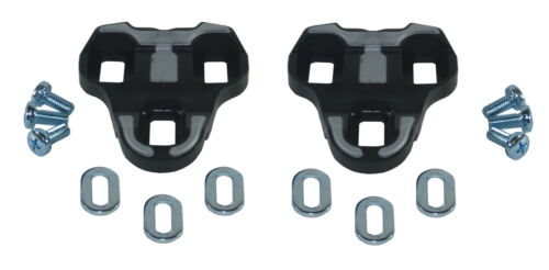 LOOK KEO Compatible Pedal Cleats for Road Bike ANTI SLIP RED GREY BLACK ROTO