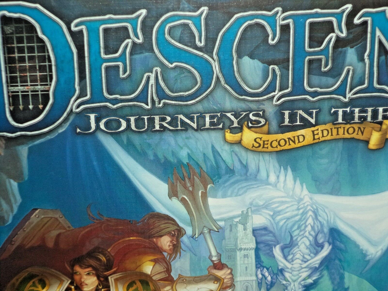 Descent 2. Second Edition Reisen in der Dunkelheit Core Basis Ffg Brettspiel Neu