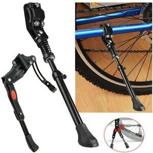 Adjustable Bicycle Kickstand Mountain Bike Aluminum Side Rear Kick W4