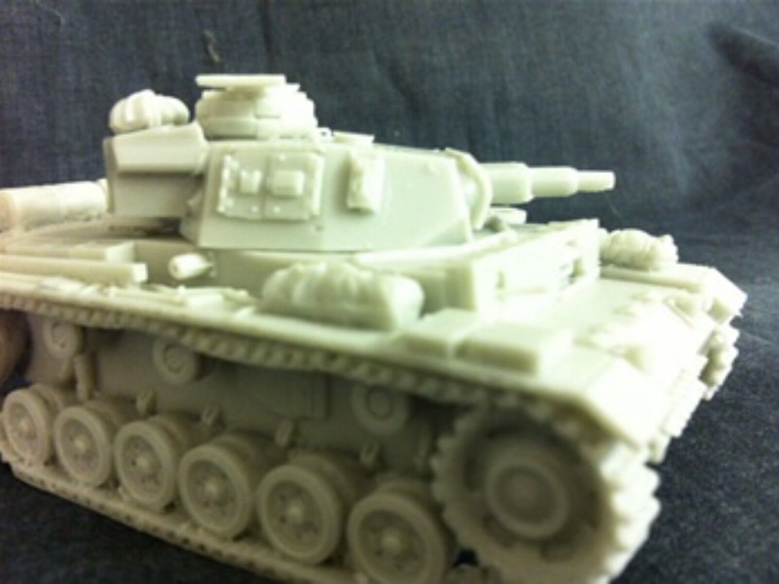 1 48 German Panzer IIIN In Resin By Blitzkrieg Miniatures WWII Bolt Action, BNIB