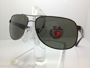 c4a6a23a5a Details about NEW RAY BAN RB 3502 004 58 61MM SUNGLASSES RB3502 RAYBAN  GUNMETAL GREY POLAR