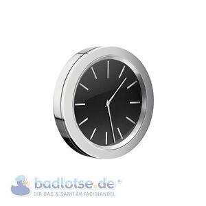 SMEDBO TIME glänzend Badezimmer-Uhr selbstklebend Bad-Wanduhr ...