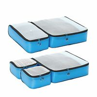 Ebags Ultralight Packing Cubes - Super Packer 5pc Set Blue Free Shipping