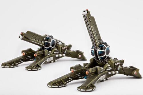 Dropzone Commander UCM Longbow Artillery Hawk Wargames 10mm