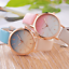 Ombre-Women-039-s-Wrist-Watch-Rose-Gold-Steel-Case-Leather-Band-Bracelet-Ladies-Gift miniature 9