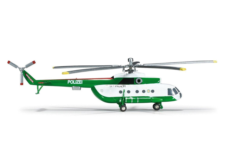 Herpa 1 200 Mil Mi-8 Polizei Brandenburg Model