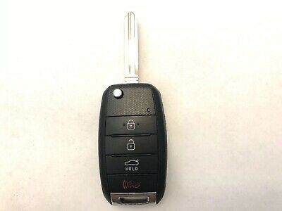 Original KIA SORENTO flip keyless entry remote fob OSLOKA-910T NEW KEY BLADE
