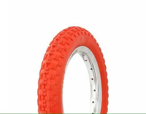 "1 12"" RED Bicycle Tire COMP3"