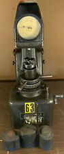 Wilson Rockwell Hardness Tester 1jr With Weights And Cover In Good Shape