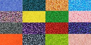 Toho-Seed-Beads-11-0-Japanese-Glass-10g-2-2mm-MANY-COLOURS