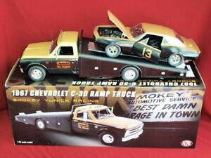"""""""SMOKEY"""" YUNICK Racing C-30 RAMP Truck - LIMITED EDITION - 1/18 Diecast by ACME"""