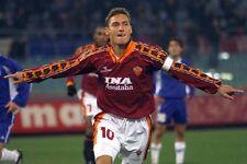 POSTER FRANCESCO TOTTI A.S. AS ROMA 10 ROME SOCCER FOOTBALL CALCIO CAPITANO #21