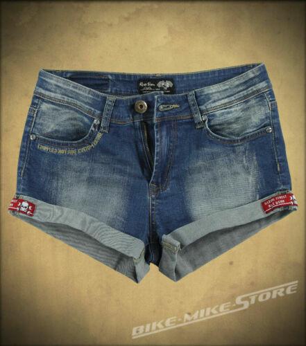 Rusty Pistons donna jeans shorts era