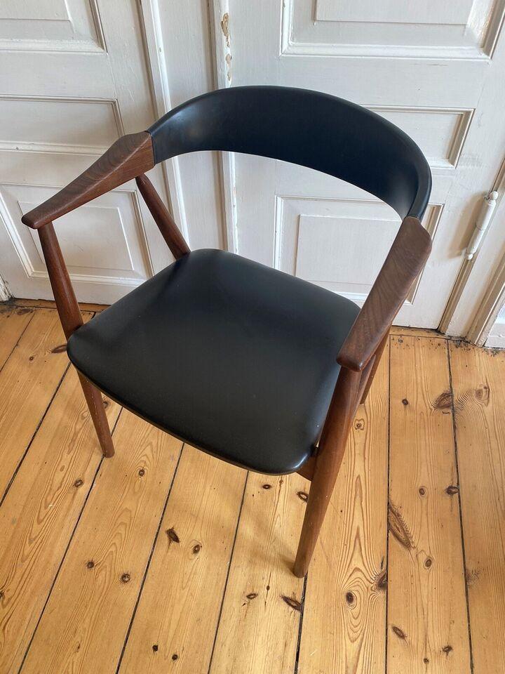 Spisebordsstol, Teak, – dba.dk – Køb og Salg af Nyt og Brugt