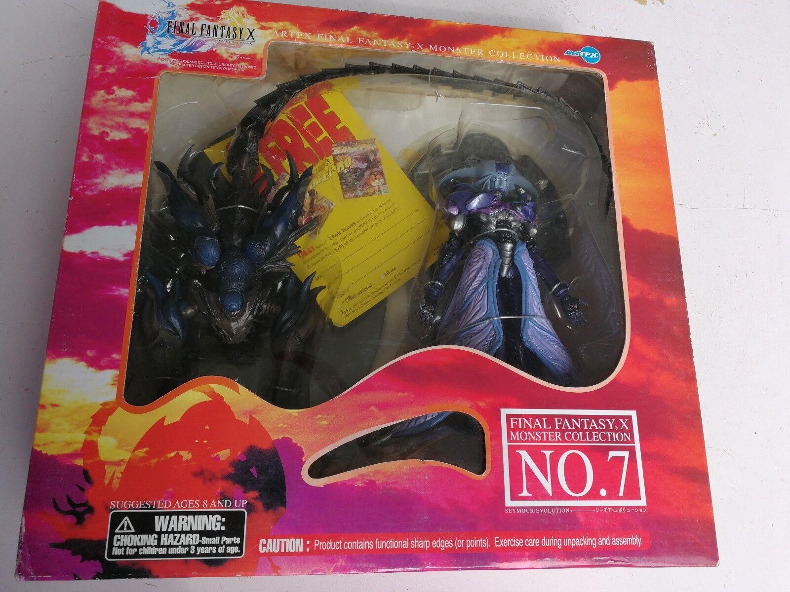 Square-Enix 's Final Fantasy X Seymour evolución figura de acción por Kotobukiya Nuevo