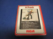 """Dolly Parton 8 Track, """"9 to 5"""" & Odd Jobs,Sing For The Common Man, Working Girl"""