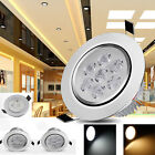 Dimmable 3W 5W 7W LED Downlight Recessed Ceiling Light Bulb Spot Lamp+Driver New