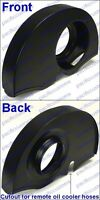 Black Vw Beetle Fan Shroud For 1600cc Or Larger Engines Without Heater Ducts