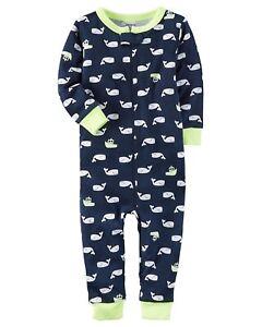 ca1c263d1 Carter s Little Boys  1-Piece Snug Fit Footless Cotton Pajamas