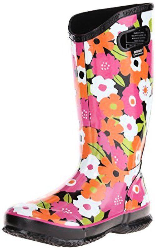 Bogs donna Spring Flowers Rain avvio- Pick SZ Coloreeee.