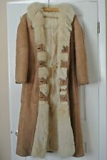 Garanzia VERA PELLE di Agnello Women's Long Fully Lined Winter Coat w.Hood Sz.10