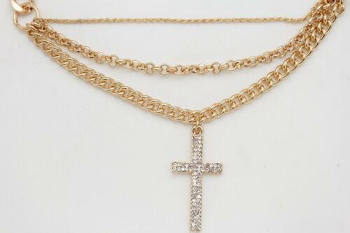 Women Boot Bracelet Gold Metal Chain Religious Cross Anklet Shoe Fashion Charm
