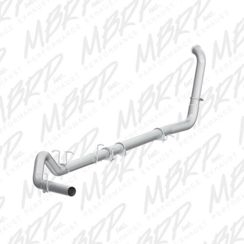 "MBRP 4/"" Turbo Back Single Side Off Road For 03-07 Ford 6.0L Powerstroke"