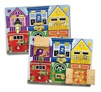 Melissa And Doug Deluxe Latches Board , New, Free Shipping