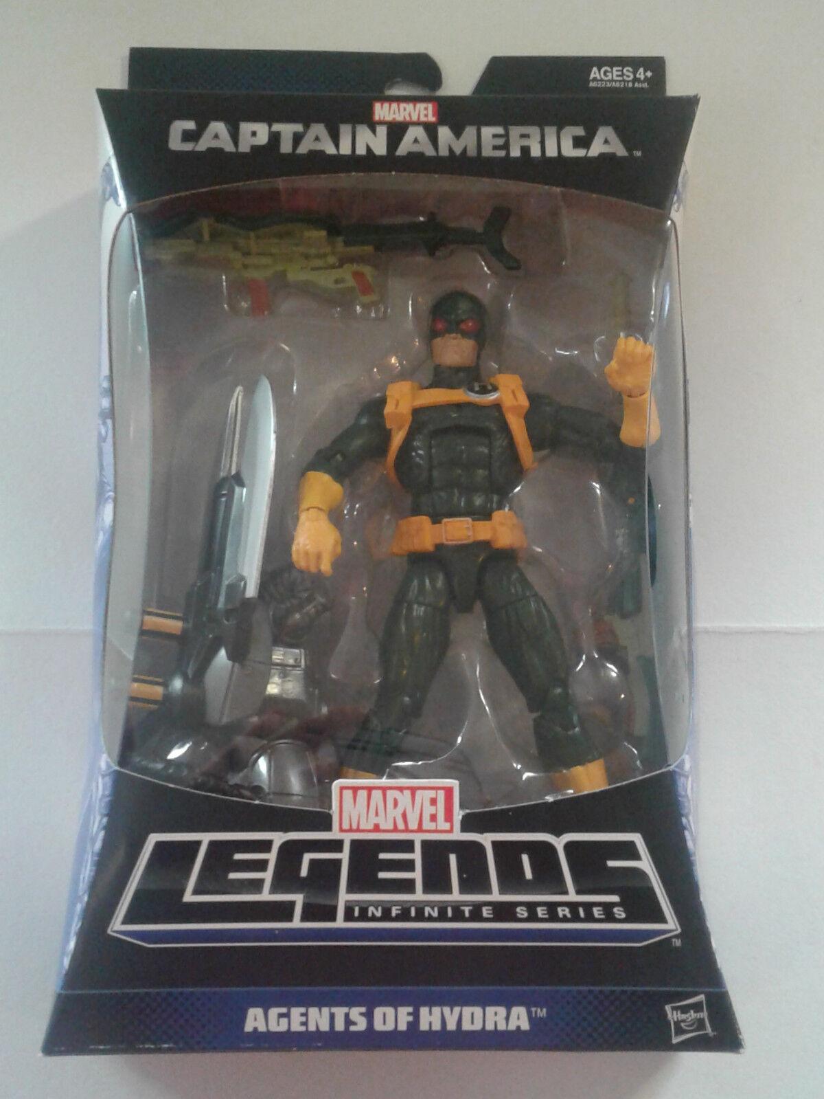 Marvel - legenden neu - hydra soldat - mandroid baf rechten arm ziel soldat