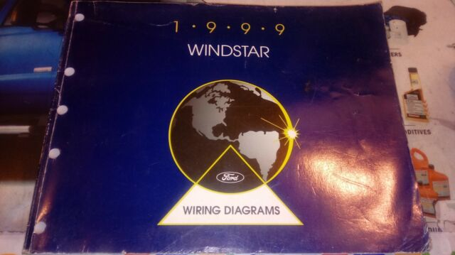 1999 Ford Windstar Van Factory Wiring Diagrams Manual
